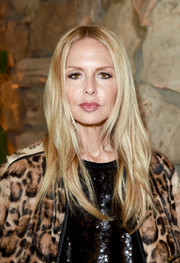 Rachel Zoe attended the launch of Proenza Schouler's Arizona fragrance wearing her hair in a center-parted layered cut.