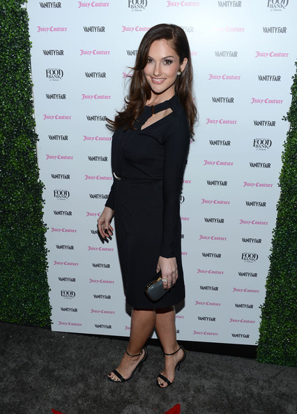 More Pics of Minka Kelly Hard Case Clutch (2 of 15) - Minka Kelly Lookbook - StyleBistro