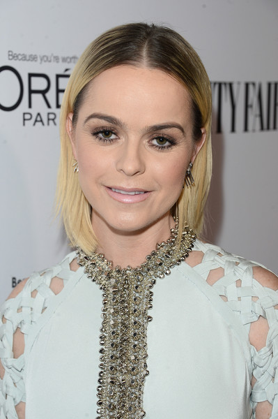 Taryn Manning kept it super simple with this short straight cut while attending a DJ night hosted by Vanity Fair.