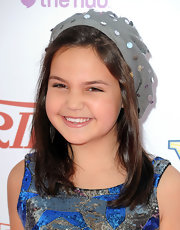 Bailee Madison made her outfit look casual by wearing a sequined boonie hat.