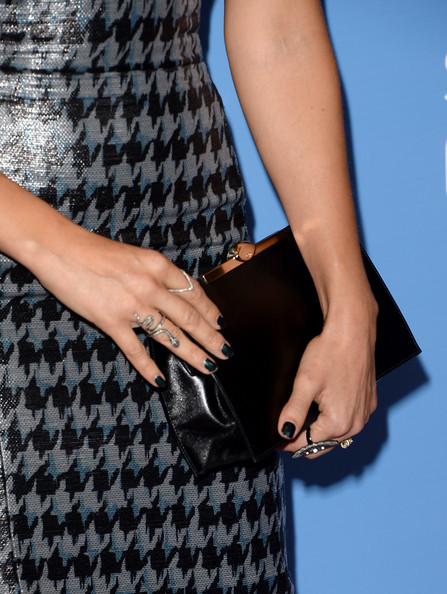 More Pics of Jessica Alba Leather Clutch (3 of 34) - Handbags Lookbook - StyleBistro
