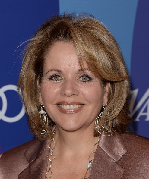 Renee Fleming went for a retro vibe with this bouffant during the Variety Power of Women event.