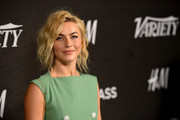 Julianne Hough rocked a messy wavy 'do at Variety's Power of Young Hollywood event.