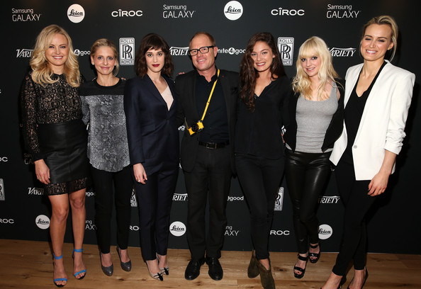 More Pics of Taylor Schilling Twisted Bun (1 of 34) - Taylor Schilling Lookbook - StyleBistro [event,fashion,little black dress,premiere,fashion design,performance,style,james agnew,actresses,actresses,malin akerman,sarah michelle gellar,variety awards,l-r,leica gallery,studio,store]
