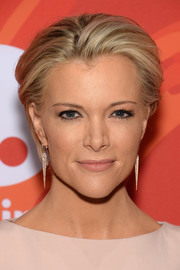 Megyn Kelly wore her short hair brushed back when she attended Variety's Power of Women event.