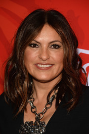 Mariska Hargitay sported piecey shoulder-length waves during Variety's Power of Women event.