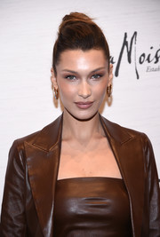 Bella Hadid styled her hair into an elegant bun for Variety's Power of Women: New York.