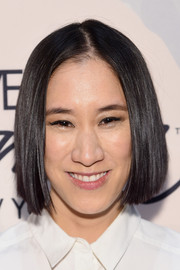 Eva Chen stuck to her usual sleek center-parted bob when she attended the Variety Power of Women event.