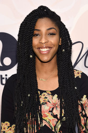 Jessica Williams attended the Variety Power of Women event wearing her trademark dreadlocks.