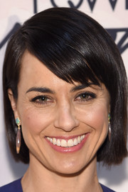 Constance Zimmer stuck to her usual bob when she attended the Variety Power of Women event.