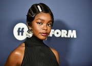 Marsai Martin went retro with this finger wave at the Variety Power of Young Hollywood event.