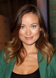 Olivia Wilde looked stunning, as always, wearing her hair in feathered waves when she visited the Variety Studio.