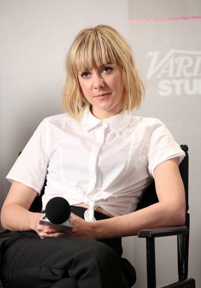Jena Malone visited the Variety Studio during the 2014 Toronto International Film Festival wearing a white tie-waist button-down shirt.