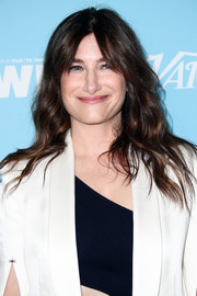 Kathryn Hahn sported her usual loose waves and parted bangs at the Variety and Women in Film pre-Emmy celebration.