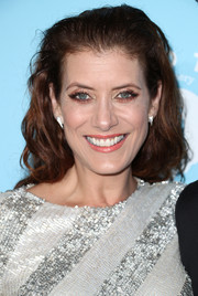 Kate Walsh attended the Variety and Women in Film pre-Emmy celebration wearing a tousled hairstyle.