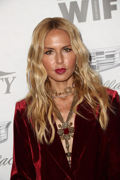 Rachel Zoe attended the Variety and Women in Film pre-Emmy celebration wearing her usual boho waves.