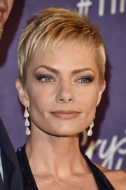 Jaime Pressly was tough-glam with her layered razor cut at the Variety and Women in Film Emmy nominees celebration.