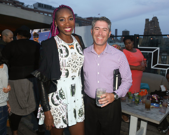 Venus Williams Hosts a US Open Viewing Party