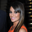 Lea Michele's Shiny Strands
