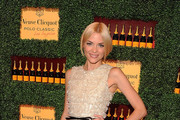 Actress Jaime King  arrives at the Veuve Clicquot Polo Classic Los Angeles at Will Rogers State Historic Park on October 9, 2011 in Los Angeles, California.
