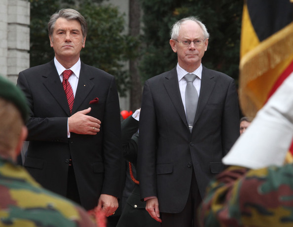 2nd Day Of State Visit Of President of Ukraine Victor Yushchenko To Belgium