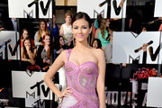 Victoria Justice One Shoulder Dress