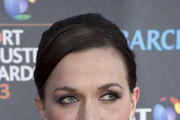 Victoria Pendleton Bobby Pinned updo