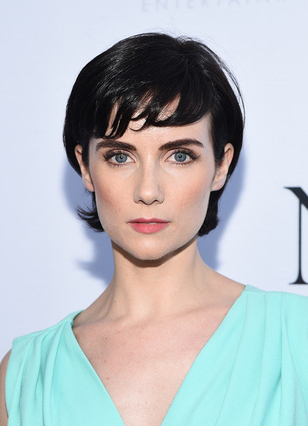 Victoria Summer Short Cut With Bangs [hair,face,hairstyle,eyebrow,chin,lip,black hair,beauty,bob cut,bangs,victoria summer,q a,los angeles,california,dga theater,unity,los angeles premiere screening,world premiere]