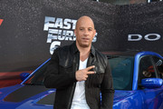 Vin Diesel Fitted Jacket