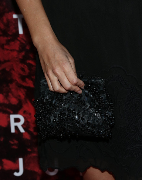 Vinessa Shaw Beaded Clutch