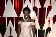 Viola Davis Off-the-Shoulder Dress