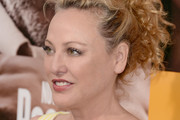 Virginia Madsen Messy Updo