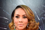 Vivica A. Fox Curled Out Bob