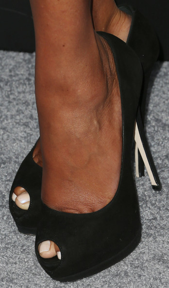Vivica A. Fox Peep Toe Pumps