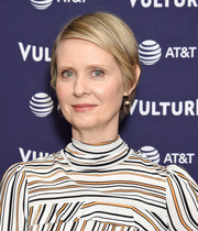 Cynthia Nixon kept it super simple with this short side-parted hairstyle at the Vulture Festival Los Angeles 2018.