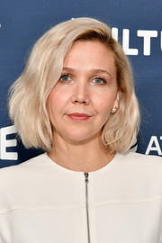 Maggie Gyllenhaal sported a textured blonde bob at the Vulture Festival.