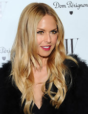 Rachel Zoe wore her golden tresses in subtle waves at 'W' Magazine's 69th Annual Golden Globe Awards Celebration.