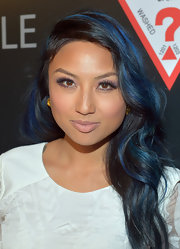 Jeannie Mai went for a tone-down beauty look with a swipe of nude lipstick at the 30 Years of Fashion and Film event.