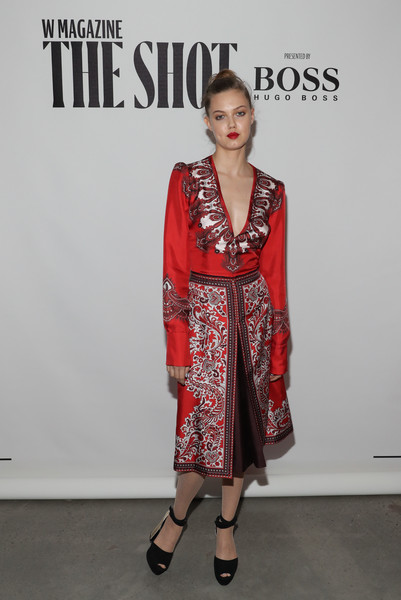 Lindsey Wixson at W Magazine And Hugo Boss Celebration