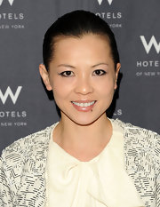 Thuy Diep showed off her classic bun while attending a coveted event in New York City.