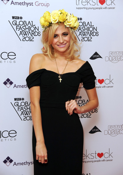 More Pics of Pixie Lott Off-the-Shoulder Dress (1 of 5) - Pixie Lott Lookbook - StyleBistro