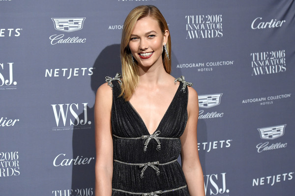More Pics of Karlie Kloss Sheer Dress (1 of 20) - Karlie Kloss Lookbook - StyleBistro