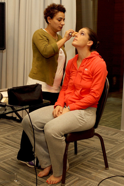 More Pics of Andrea Petkovic Classic Bun (2 of 4) - Andrea Petkovic Lookbook - StyleBistro