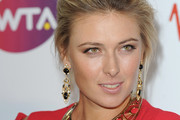 Maria Sharapova arrives at the WTA Tour Pre-Wimbledon Party at The Roof Gardens, Kensington on June 16, 2011 in London, England.