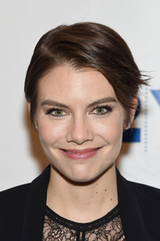 Lauren Cohan attended the 'Walking Dead' screening and conversation wearing a breezy short 'do.