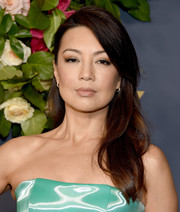 Ming-Na Wen looked lovely with her side-parted waves at the Walt Disney Television Emmy party.