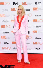 Naomi Watts' Vionnet color-block ensemble at the TIFF screening of 'About Ray' was a super-sweet way to suit up.