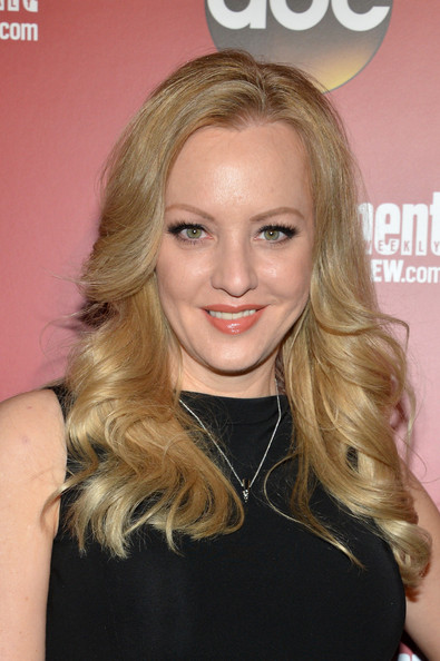 Wendi McLendon-Covey Long Wavy Cut [hair,blond,face,hairstyle,eyebrow,long hair,beauty,hair coloring,chin,lip,arrivals,wendi mclendon-covey,upfronts,new york city,the general,entertainment weekly,abc-tv,the new york,upfronts party]