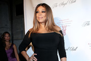 Wendy Williams Off-the-Shoulder Dress