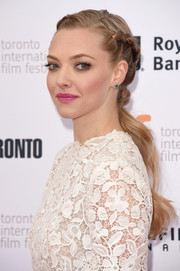 Amanda Seyfried looked downright darling wearing this partially braided wavy 'do at the premiere of 'While We're Young.'